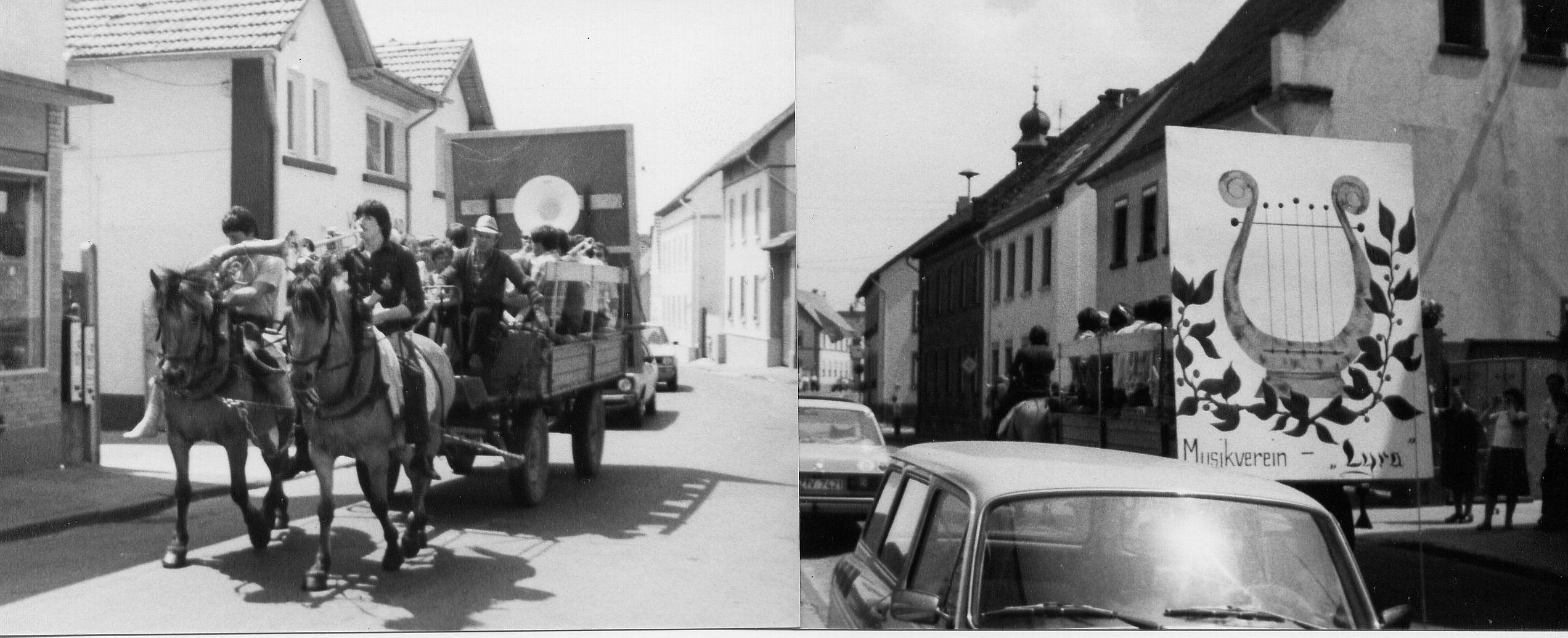 1980ca_Lö_zumSchlachtfestMitPlanwagen_SW